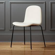 primitivo white chair bedroom furniture cb2 peg