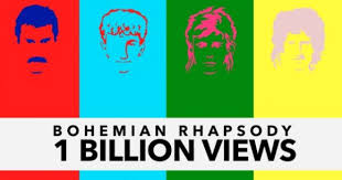 <b>Queen's</b> '<b>Bohemian Rhapsody</b>' Video Topped 1 Billion Views on ...