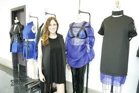 moore college of art design senior fashion design major ready claudia geissler