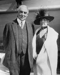 「Harding married Florence Kling De Wolfe」の画像検索結果