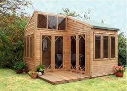 images about Garden Summer House on Pinterest   Corner Sheds       images about Garden Summer House on Pinterest   Corner Sheds  Sheds and Shed Plans