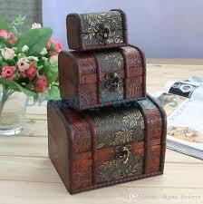 <b>3pcs set</b> Vintage Treasure <b>Pearl</b> Jewelry Storage Wood Box ...