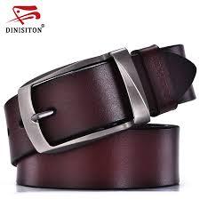 DINISITON designer belts men <b>high quality genuine leather</b> belt ...