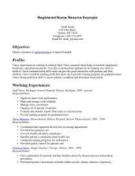 nurse sample of registered nurse resume sample of registered nurse resume photos