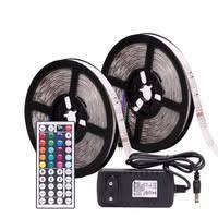 RGB <b>LED</b> Strip Waterproof 5050 <b>5M</b> 10M 15M 20M 30M DC 12V...