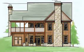 Bedroom Craftsman Cottage House Plan   Porchessmall craftsman cottage house plans