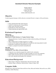 resume  examples of work skills for a resume  corezume co    office skills example of  resume for
