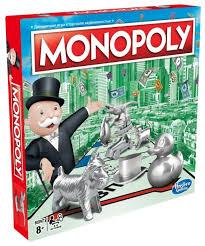<b>Настольная игра Monopoly</b> Классическая Обновленная C1009 ...