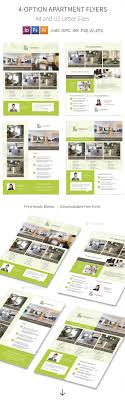 apartment for rent flyers options by mike pantone graphicriver apartment for rent flyers 4 options corporate flyers