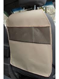 <b>Защитная накидка</b> на спинку переднего сиденья (бежевая ...