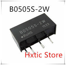 <b>5PCS</b>/LOT B0505S-2W B0505S Isolated <b>Power Supply</b> Module from ...