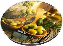 <b>Кухонные весы Marta MT-1635</b> от 419 р., купить со скидкой на ...