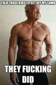 Badass Grandpa memes | quickmeme via Relatably.com