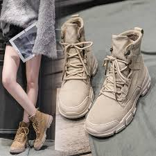 Spring and Autumn Women <b>Martin Boots</b> British Wind Students ...