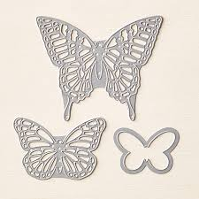 Image result for Stampin up butterfly framelits