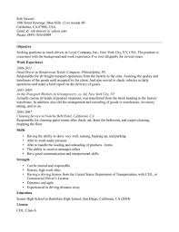 school bus driver resume no experience cipanewsletter 8001035 sample resume school bus driver truck driver