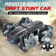 <b>2.4G Remote</b> Control <b>Dump</b> High speed Drift Stunt Car With Lights ...