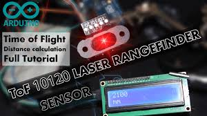 Easy use of <b>ToF 10120 LASER Rangefinder</b> to measure distance ...