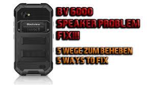 BV6000 <b>Speaker</b> problem FIX!! (english) - YouTube