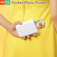 "<b>Original Xiaomi Pocket Photo</b> Printer Mi Home 3"" Zink No Ink Paper ..."