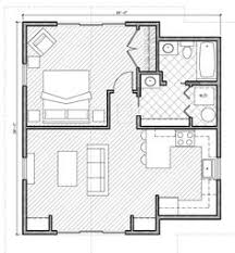 Contemporary House Plan   House plans  House and FloorsArchitecture  Mini st Square House Plans One Bedroom approx  sq  ft  No place for a table  but the eat in place is ok  The bedroom would not have to