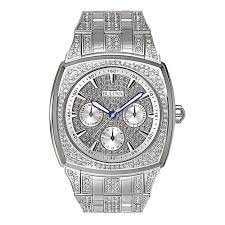 men s bulova chronograph crystal accent watch model 96c002 men s bulova chronograph crystal accent watch model 96c002 bulova zales