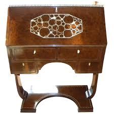 ivoroid inlaid original art deco secretary desk 1930s art deco office chair