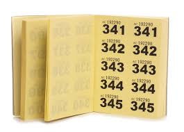 How to Make a Raffle Ticket Book | eBay How to Make a Raffle Ticket Book