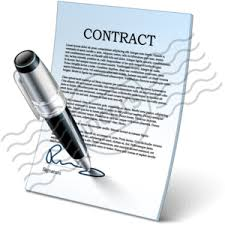Image result for author contract images