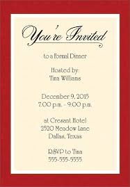 corporate dinner invitation template ctsfashion com best images of dinner invitation template formal dinner party