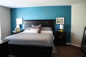 accent walls blue accent walls and grey bedding on pinterest bedding for black furniture