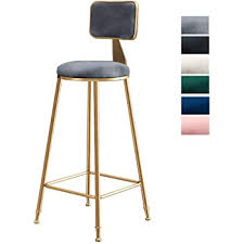 Barstools Home <b>Bar Stools</b> Set of <b>2 PCS</b> Gray Kitchen Counter ...