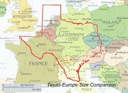 Image result for texas size compared to countries