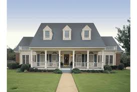 Eplans Farmhouse House Plan   Simple Symmetry   Square Feet    Front