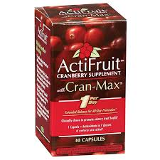 <b>Actifruit Cranberry</b> (<b>30 Capsules</b>) by Enzymatic Therapy at the ...