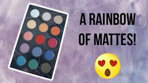 <b>Zoeva Matte Spectrum Palette</b> First Impressions + Swatches ...