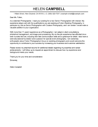 best senior photographer cover letter examples livecareer edit