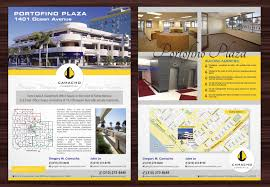 bold modern flyer design for camacho commercial real estate flyer design by smart for commercial real estate company needs an awesome flyer design for their
