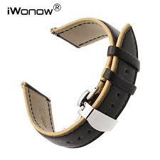Online Shop <b>22mm</b> France Genuine Calf <b>Leather Watchband for</b> ...