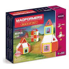 Магнитный <b>конструктор MAGFORMERS</b> 705003 <b>Build</b> Up Set ...