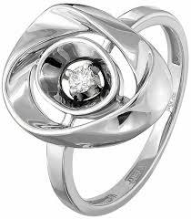 Купить <b>Кольца</b> с бриллиантом <b>Kabarovsky</b> в Новосибирске