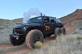 Loco Hauk Steam-Powered 6x6 Jeep JK Built by Kenny Hauk at ...