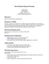 nursing student resume template sample detail ideas cool nursing student resume template sample detail ideas cool general job apluications easy example