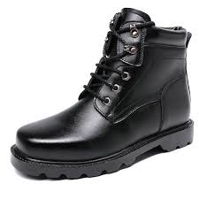 Genuine Leather <b>Men</b> Tactical <b>Military Boots</b> Top Quality Winter ...
