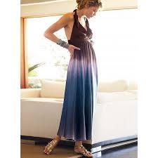 maxi dress, long dress, halter nect, tye and dye, for women, summer, silk