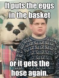 Evil Kid and Bunny memes   quickmeme via Relatably.com