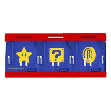 <b>Кейс Hori</b> Mario для хранения 6 игровых карт для консоли ...