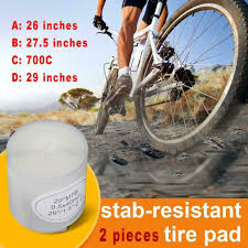 Sporting Goods <b>2pcs Bicycle Tire</b> Liner Puncture Proof Belt ...