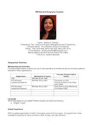 sample personal biography template all file resume sample sample personal biography template how to write a bio get a biography template and bio of