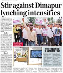 Image result for dimapur lynching images